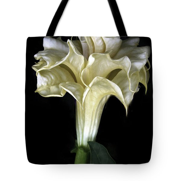 Angel Trumpet Tote Bag by Jessica Jenney