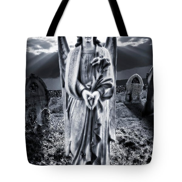 Angelic Light Tote Bag by Meirion Matthias