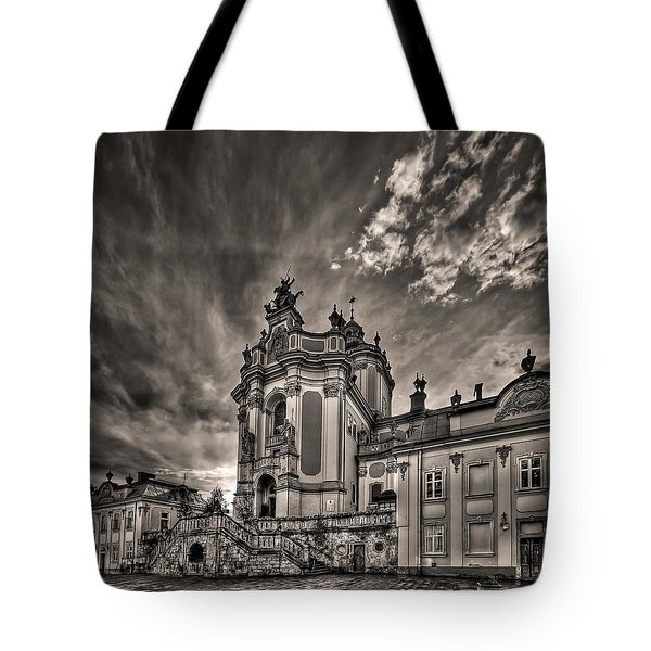 Angels And Demons Tote Bag by Evelina Kremsdorf