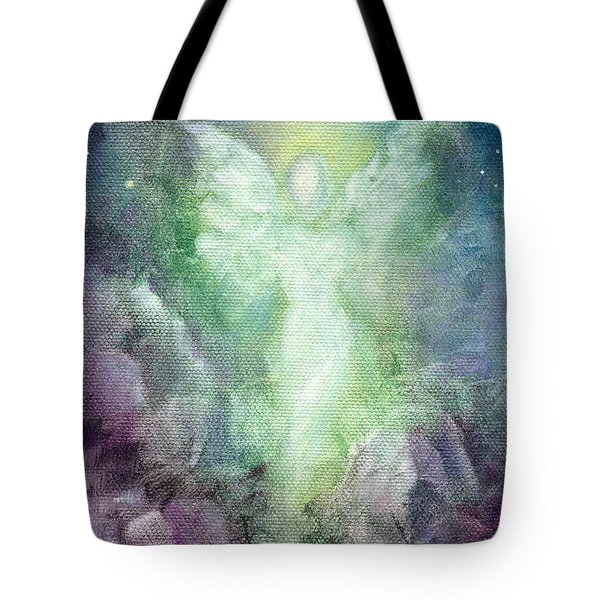 Angels Journey Tote Bag by Marina Petro