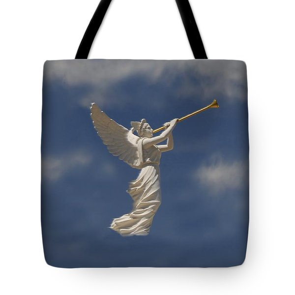 Angels Trumpet Tote Bag by David Lee Thompson