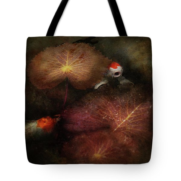 Animal - Fish - I will grant your wishes three Tote Bag by Mike Savad