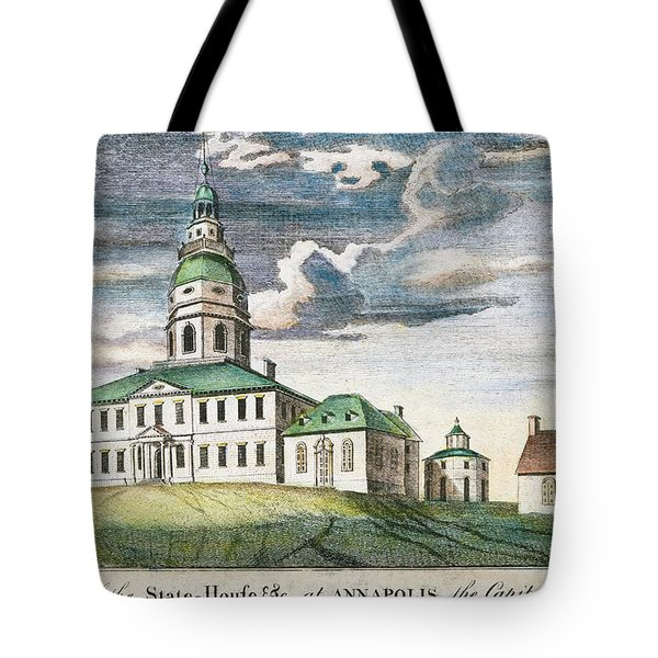Annapolis, Maryland, 1786 Tote Bag by Granger