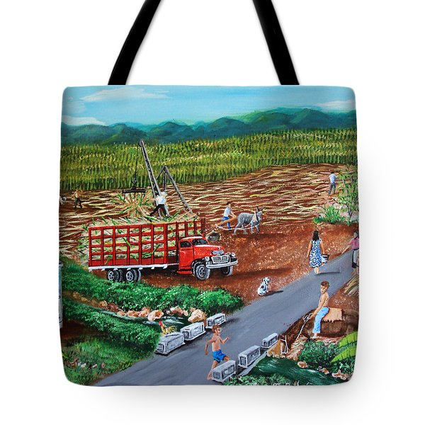 Anoranzas Tote Bag by Luis F Rodriguez