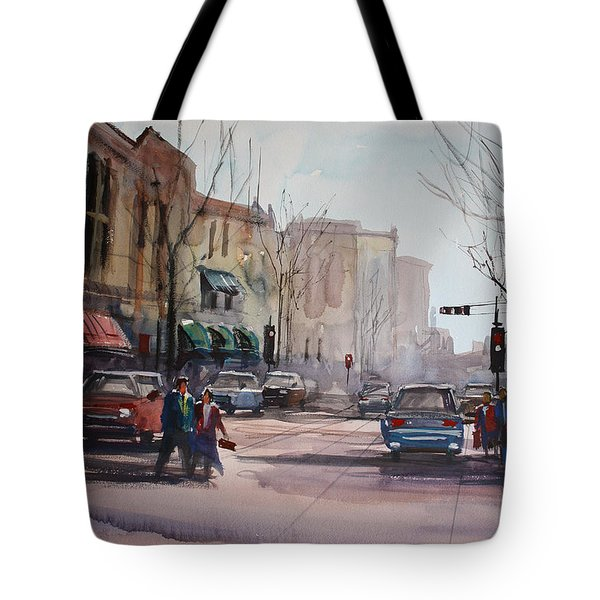 Another Day In Fond Du Lac Tote Bag by Ryan Radke