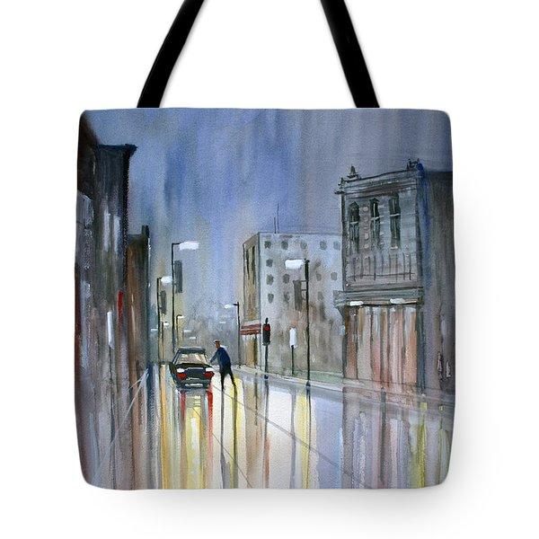 Another Rainy Night Tote Bag by Ryan Radke