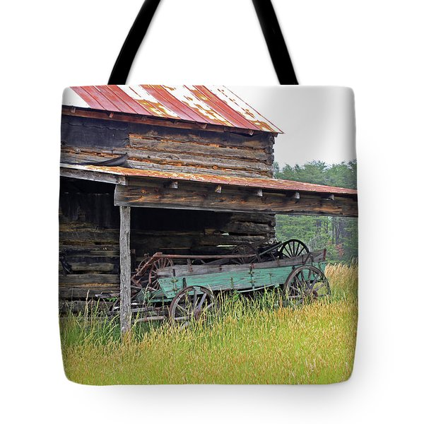 Another Time IIi Tote Bag by Suzanne Gaff
