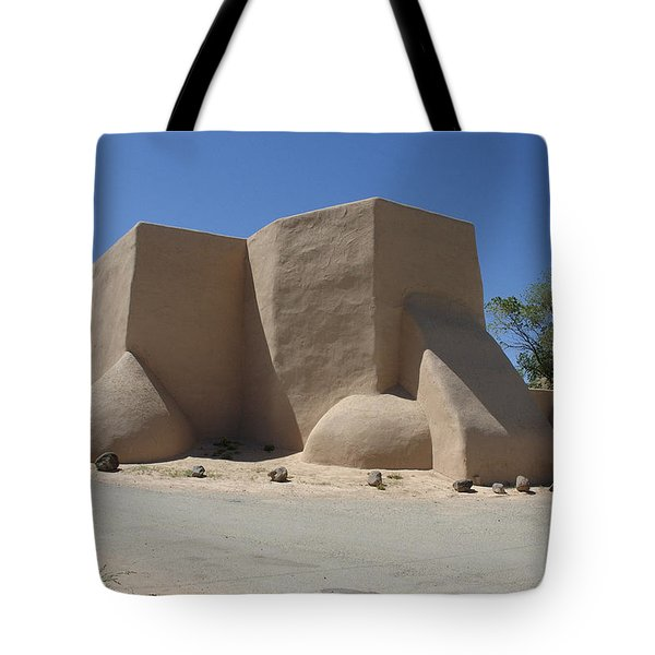 Ansel's Church Tote Bag by Jerry McElroy