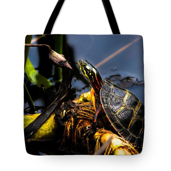 Ant Meets Turtle Tote Bag by Bob Orsillo