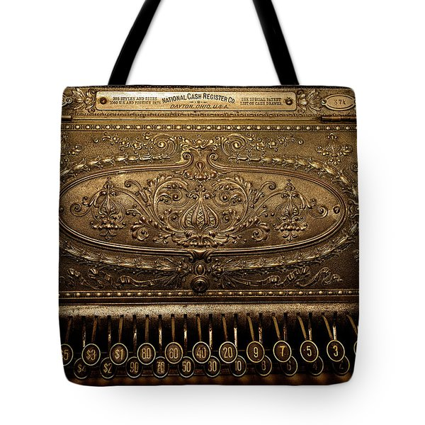 Antique Ncr Tote Bag by Christopher Holmes