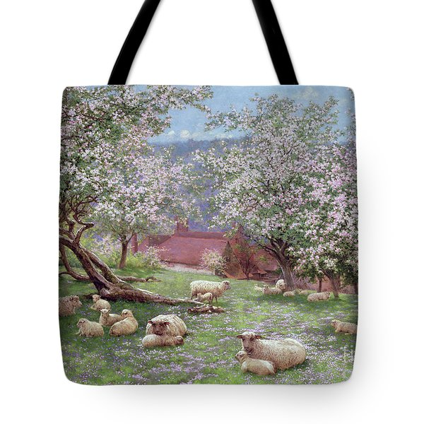 Appleblossom Tote Bag by William Biscombe Gardner
