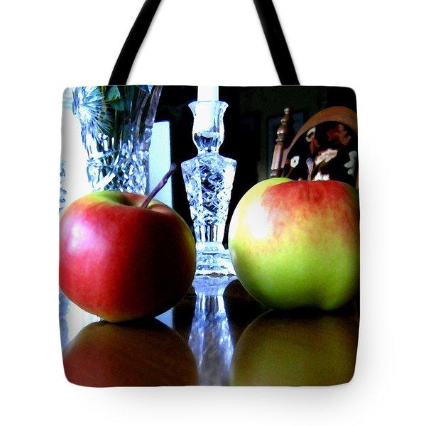 Apples Still Life Tote Bag by Will Borden
