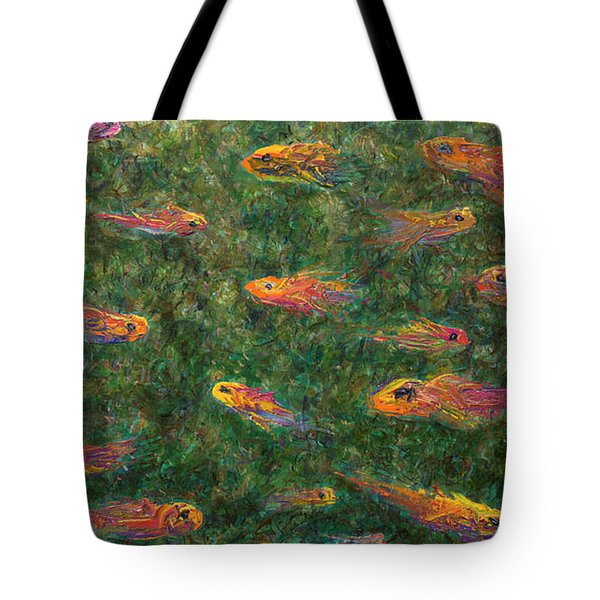 Aquarium Tote Bag by James W Johnson