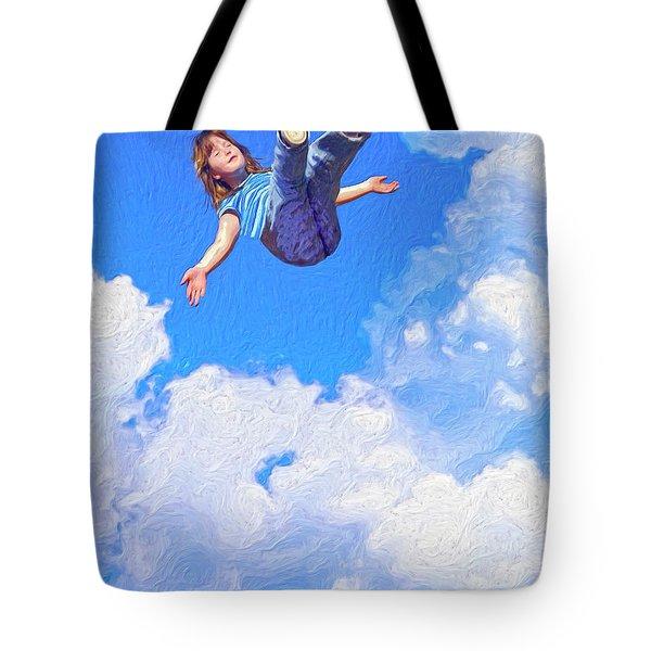 Aquarius Rising Tote Bag by Dominic Piperata