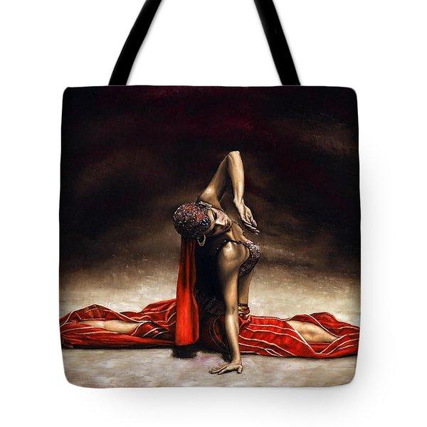 Arabian Coffee Tote Bag by Richard Young