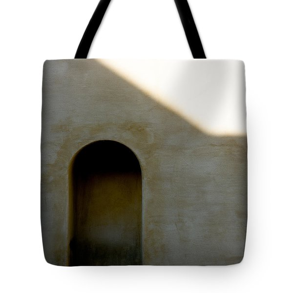 Arch In Shadow Tote Bag by Dave Bowman