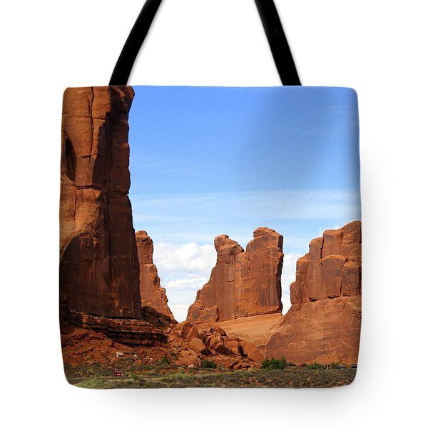 Arches Park 2 Tote Bag by Marty Koch