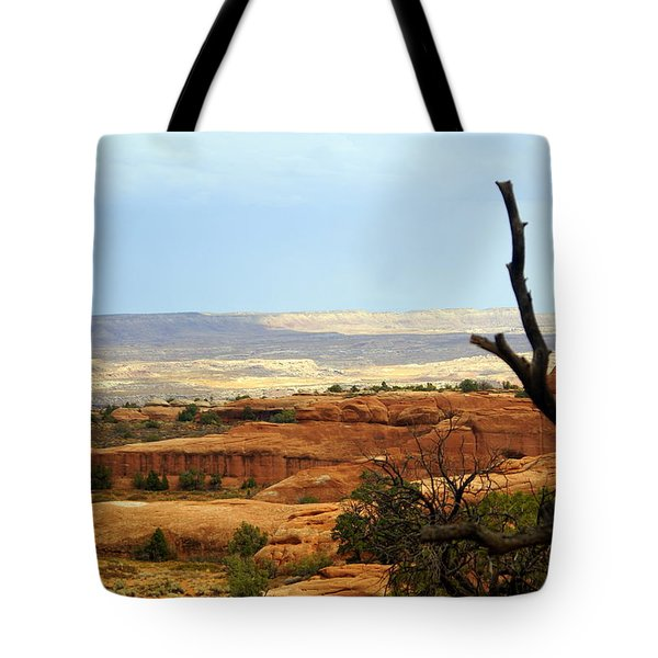 Arches Vista Tote Bag by Marty Koch
