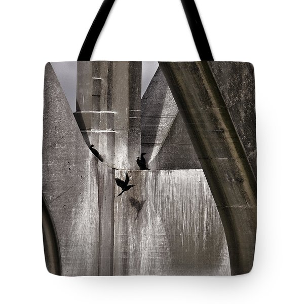 Architectural Detail Tote Bag by Carol Leigh