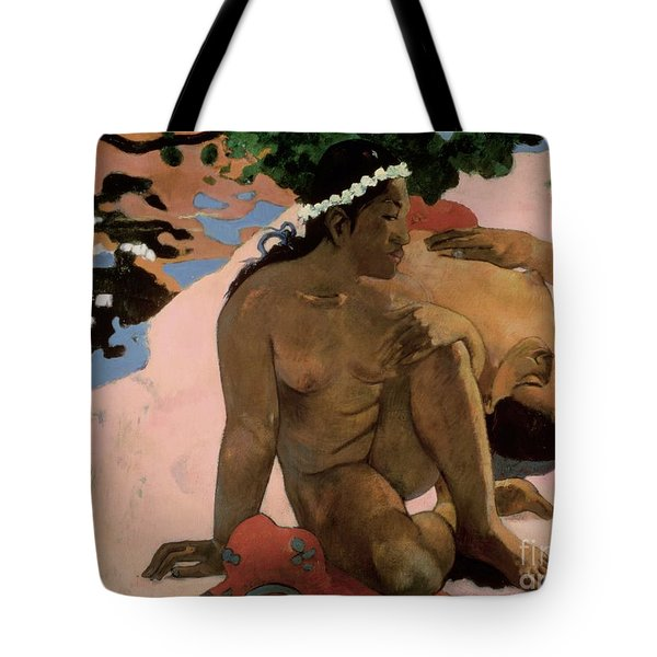 Are You Jealous Tote Bag by Paul Gauguin