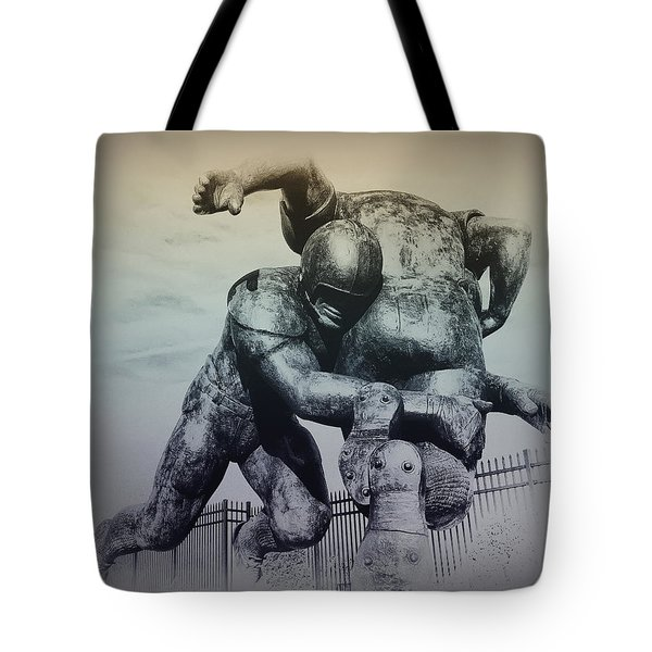 Are You Ready For Some Football Tote Bag by Bill Cannon