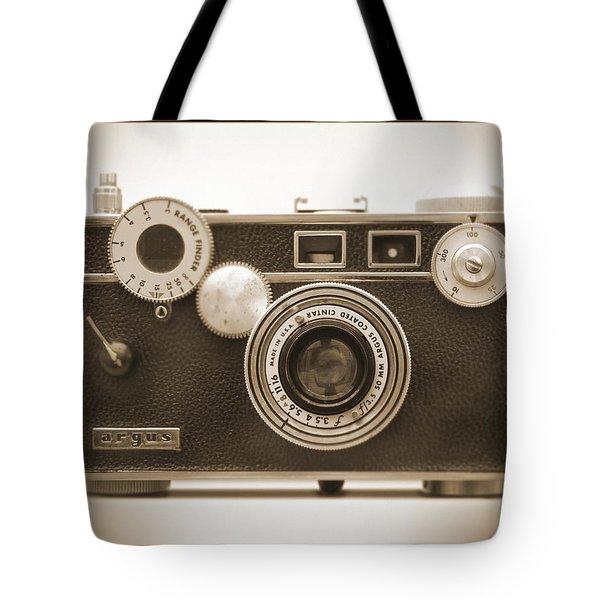 Argus - Brick Tote Bag by Mike McGlothlen