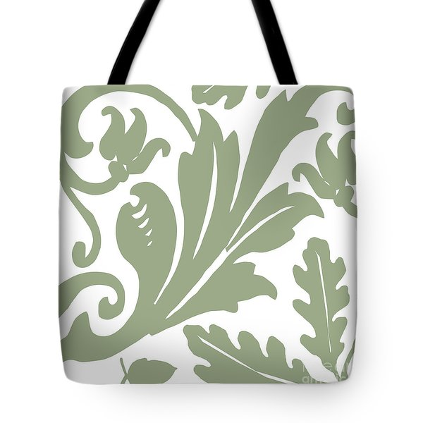 Arielle Olive Tote Bag by Mindy Sommers