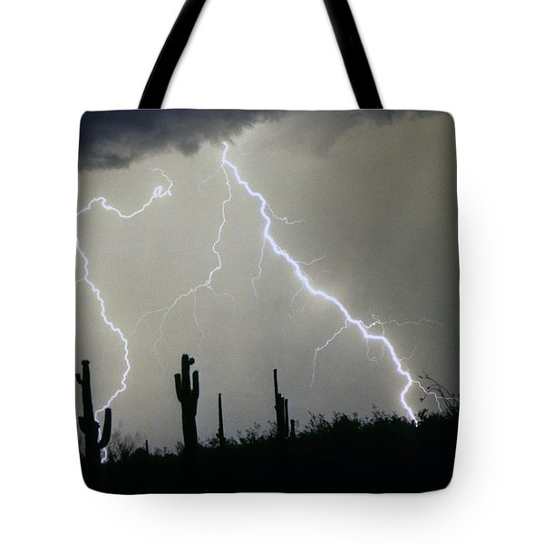 Arizona Desert Storm Tote Bag by James BO  Insogna