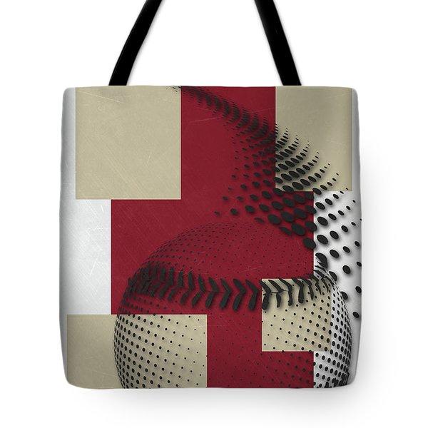 Arizona Diamondbacks Art Tote Bag by Joe Hamilton