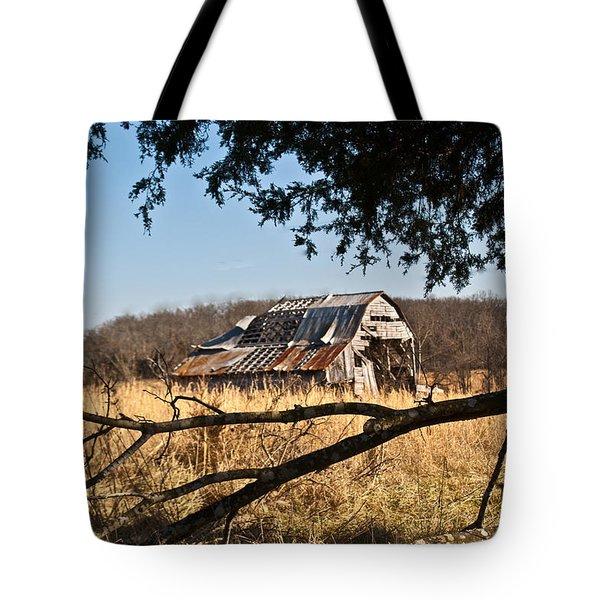 Arkansas Barn 1 Tote Bag by Douglas Barnett