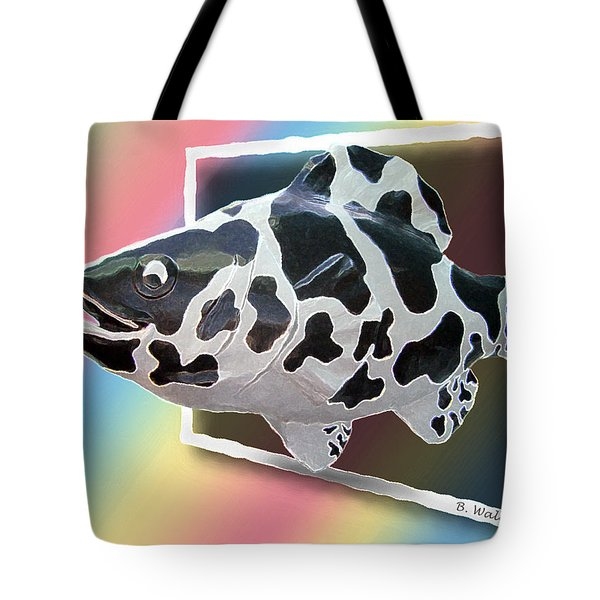 Art Fish Fun Tote Bag by Brian Wallace