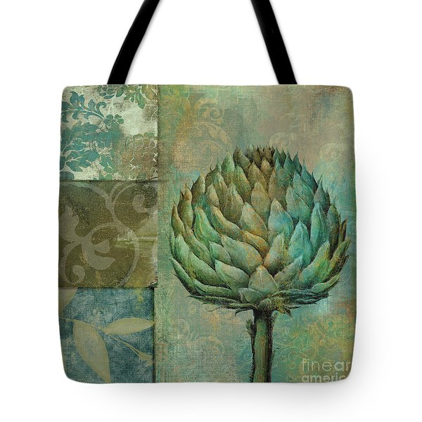 Artichoke Margaux Tote Bag by Mindy Sommers
