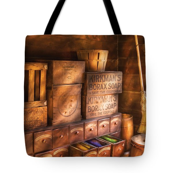 Artist - Assorted  Dyes  Tote Bag by Mike Savad