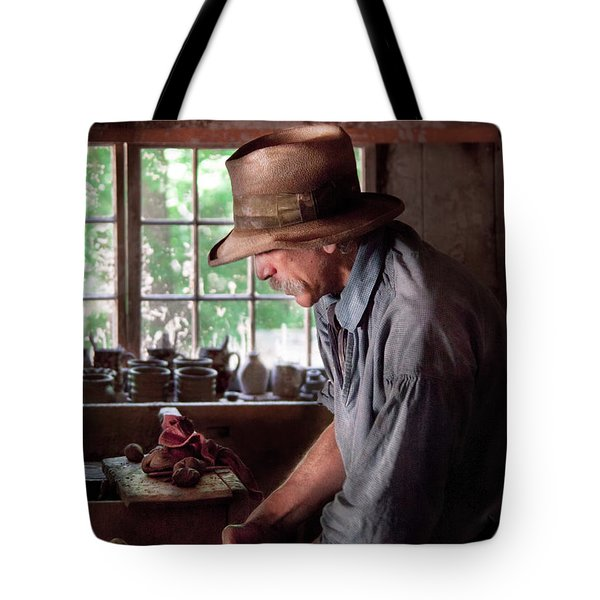 Artist - Potter - The Potter III Tote Bag by Mike Savad