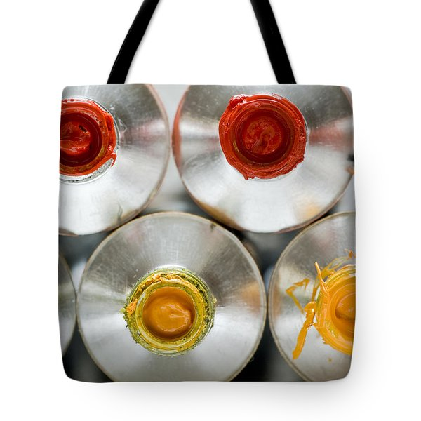 Artists' Oil Paints Tote Bag by Frank Tschakert