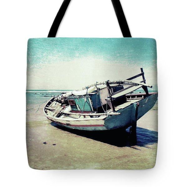 Waiting For The Tide Tote Bag by Nicklas Gustafsson