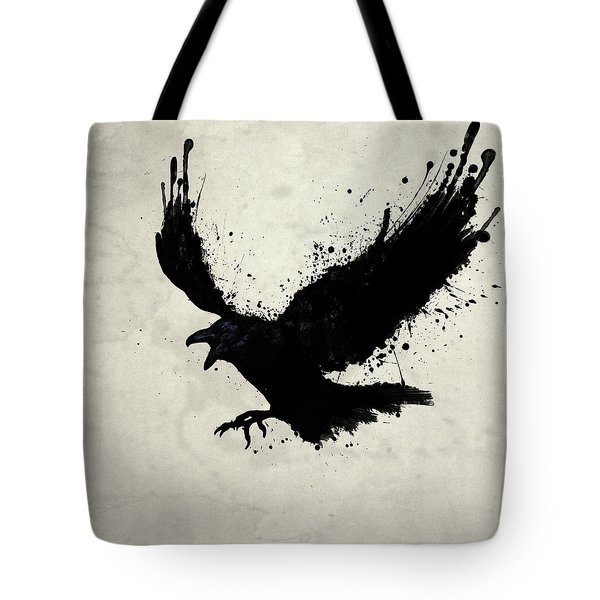 Raven Tote Bag by Nicklas Gustafsson