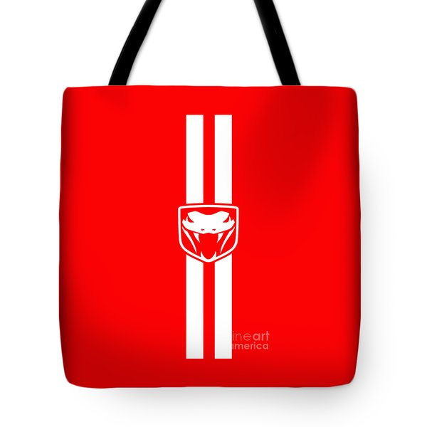Dodge Viper Red Phone Case Tote Bag by Mark Rogan