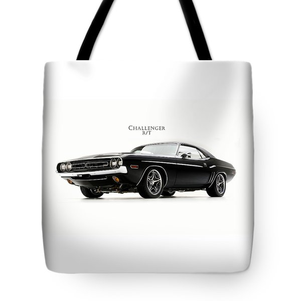 Dodge Challenger Tote Bag by Mark Rogan