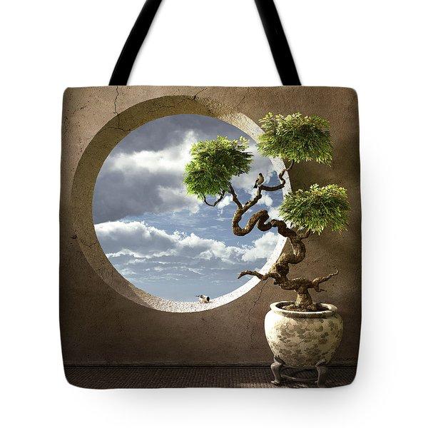 Haiku Tote Bag by Cynthia Decker