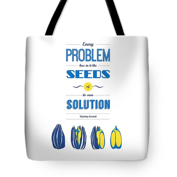 Stanley Arnold Typography Wall Decor Quote Tote Bag by Lab No 4 - The Quotography Department