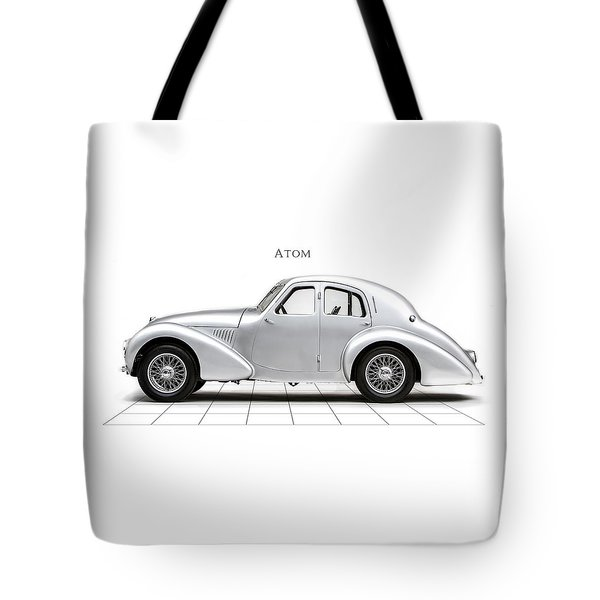 Aston Martin Atom Tote Bag by Mark Rogan
