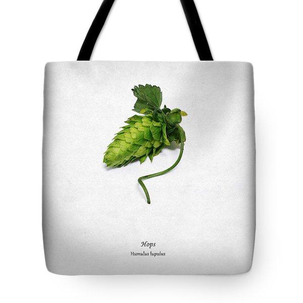 Hops Tote Bag by Mark Rogan