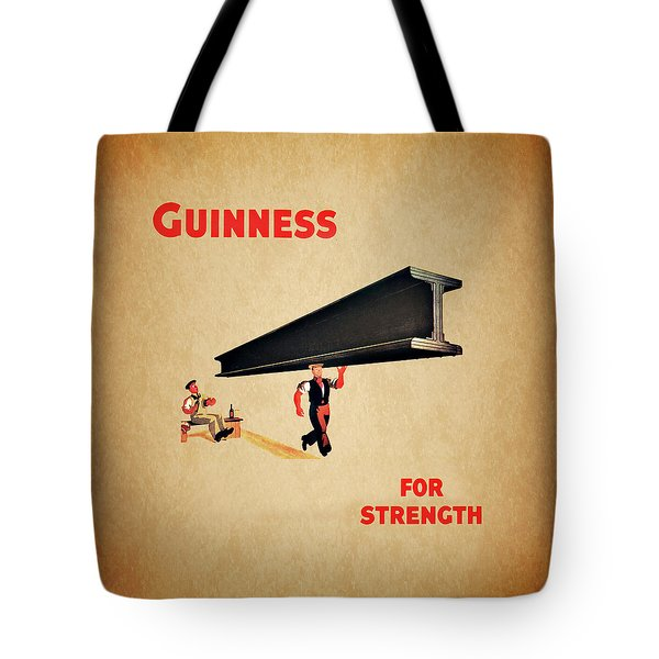 Guiness For Strength Tote Bag by Mark Rogan