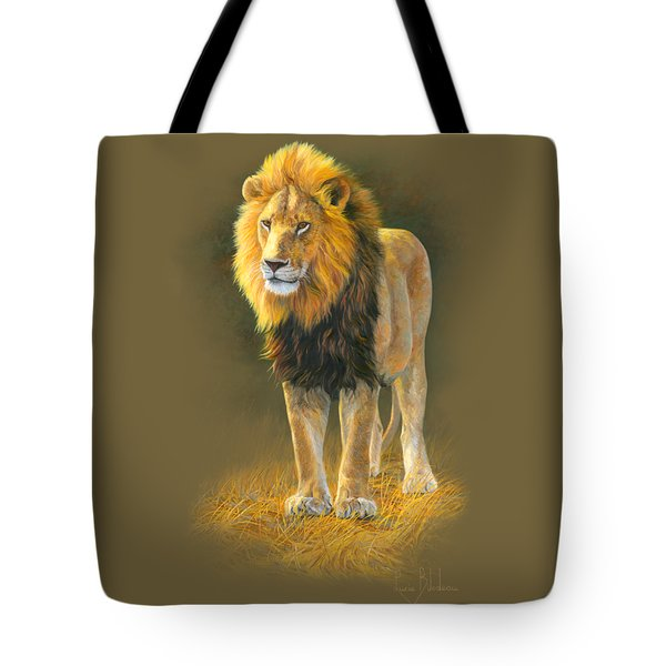 In His Prime Tote Bag by Lucie Bilodeau