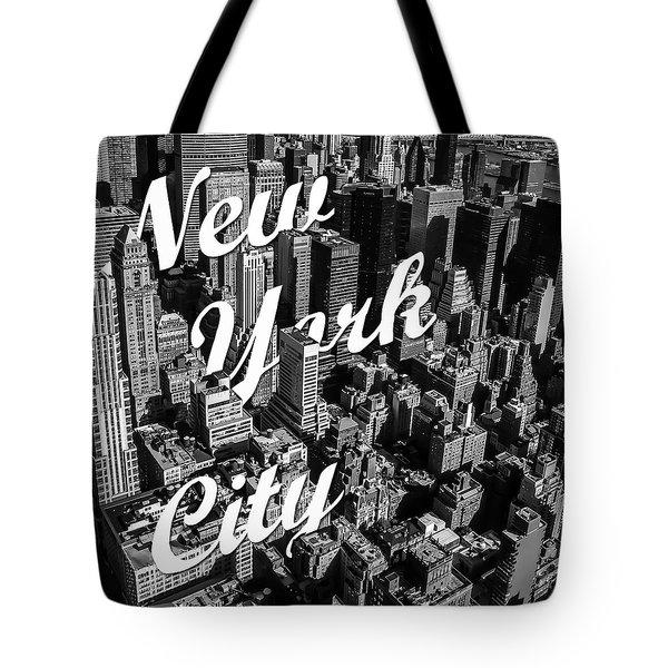 New York City Tote Bag by Nicklas Gustafsson