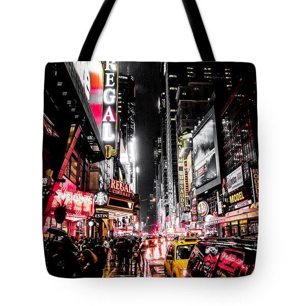 New York City Night II Tote Bag by Nicklas Gustafsson