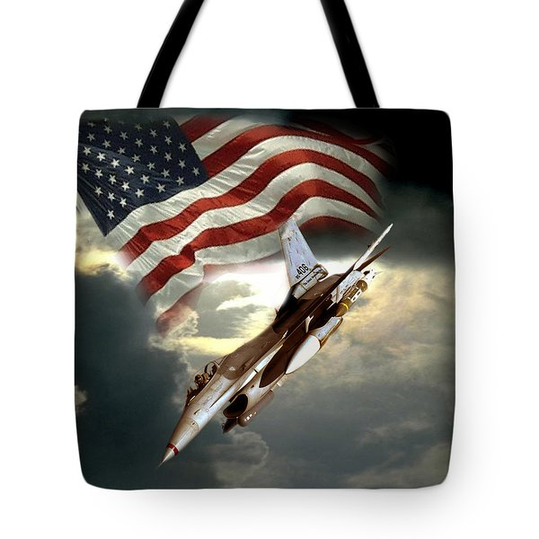 American Feedom  Tote Bag by Regina Femrite