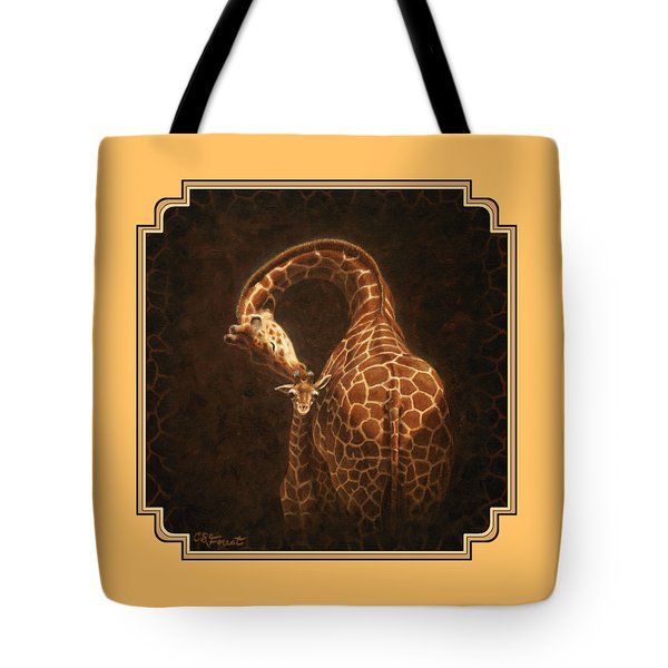 Love's Golden Touch Tote Bag by Crista Forest