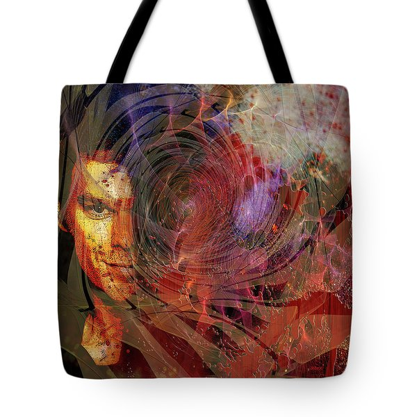 Crimson Requiem Tote Bag by John Robert Beck